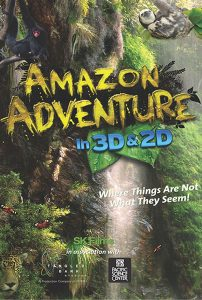 Amazon Adventure in 2D & 3D