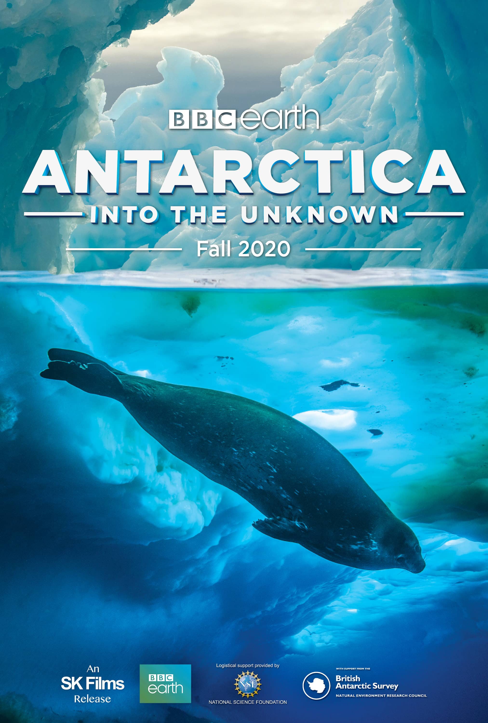 Poster for Antarctica Into The Unknown